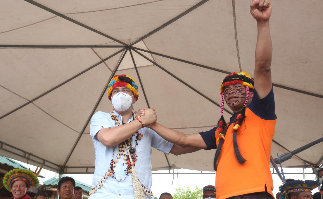 Ecuador: Arauz recibe apoyo de la Confederación Indígena