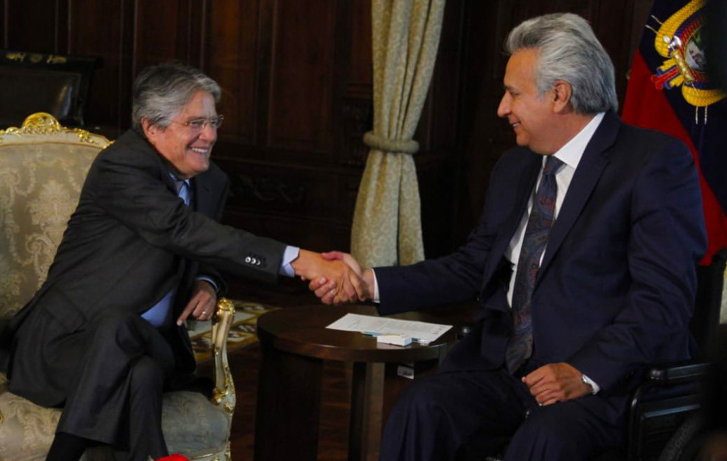 Transición en Ecuador, de derecha a derecha