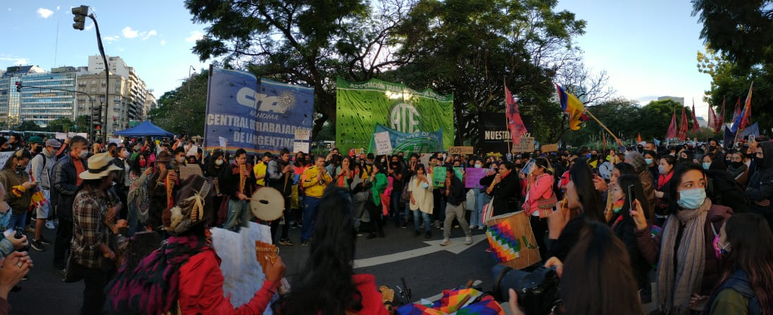 Desde Argentina, solidaridad con el pueblo colombiano