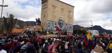 Otra jornada de protestas imponentes en Colombia