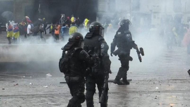 Casi 50 asesinatos en 11 días de paro en Colombia
