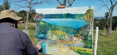 Juan de Dios Valdez: La odisea de pintar el paisaje de Paraguay