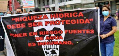 Quinta semana de protesta contra la minería en Panamá