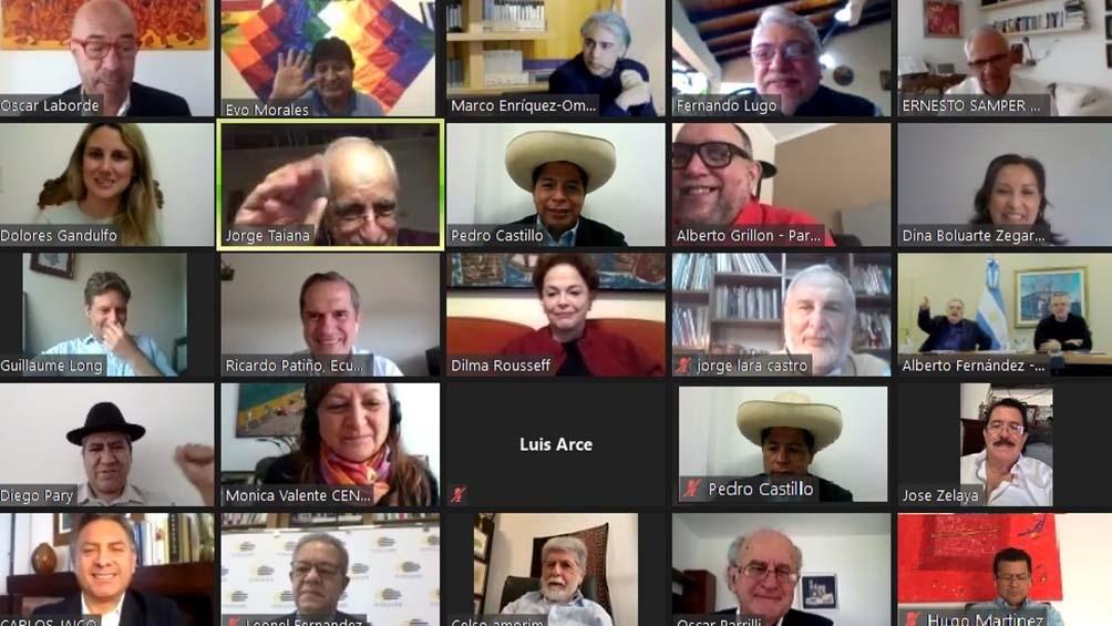 Perú: Pedro Castillo recibió apoyo político de la región