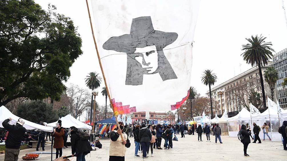 Realizan acampe en Argentina por la libertad de Milagro Sala