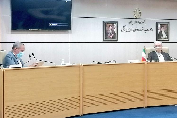 Irán reforzó el convenio para producir vacunas cubanas