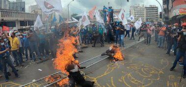 Panamá: protestas a dos años del gobierno de Cortizo