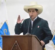 Perú: Pedro Castillo logra voto de confianza del Congreso