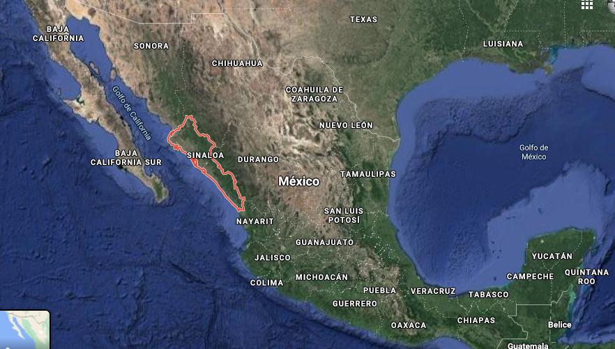 México: denuncian derrame de químicos en un río de Sinaloa