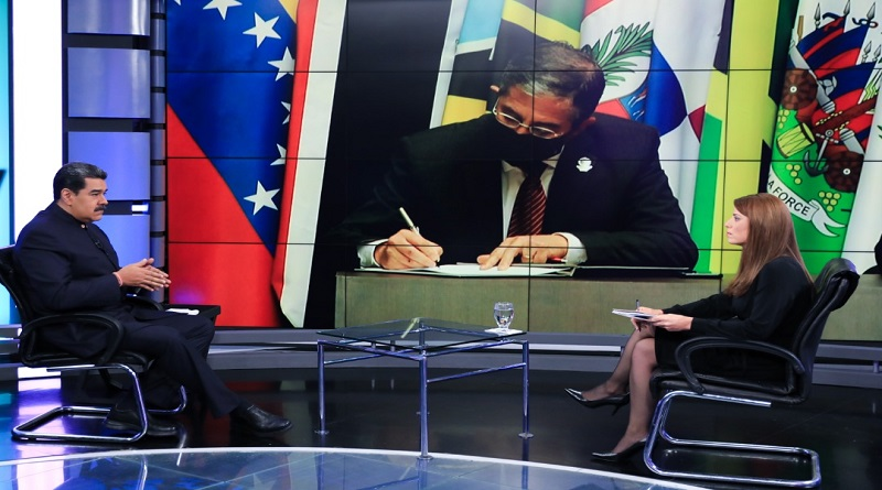 Maduro anunció que se instalará la Mesa de Diálogo