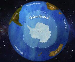 Otro continente y un nuevo océano en un planeta herido