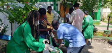 Cuando ocurrió el terremoto, Cuba ya ayudaba en Haití