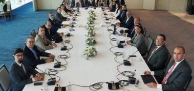 El bloqueo domina la agenda de diálogo por Venezuela