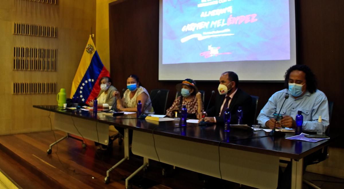 Migrantes en Caracas se solidarizan con Venezuela