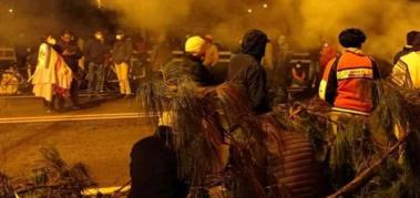Marchas y cortes en Ecuador contra el ajuste de Lasso