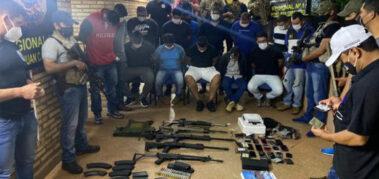 Fuerte presencia del crimen organizado en Paraguay